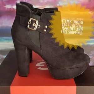 G by Guess 70's inspired platform bootie